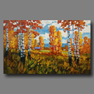 October Leaves - 30x48 - (SOLD)