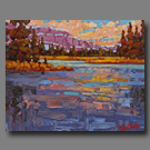 Sunset Reflections - 16x20 - (SOLD)