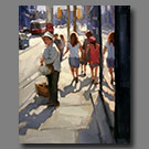 Waiting for the Dundas Streetcar - 20x16